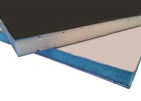 Chapas y paneles gadelum almacenaje y distribuci n de for Panel sandwich aluminio blanco