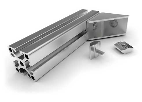 Perfiles normalizados de aluminio materiales de for Perfiles de aluminio barcelona